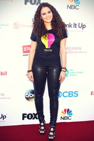 Madison Pettis attends Think It Up Education Initiative Telecast