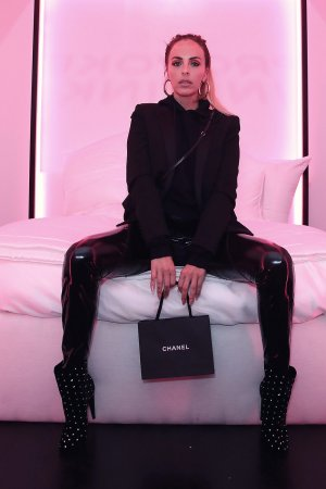Maeve Reilly attends Chanel Pre-Oscars event