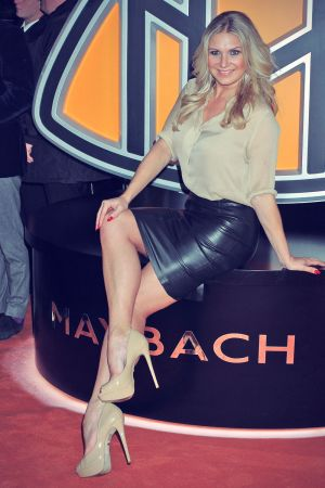 Magdalena Brzeska attends Grand Opening Flagship Store Maybach Icons