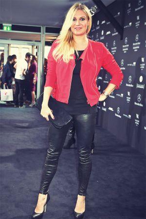 Magdalena Brzeska attends Mercedes Benz Fashion Week