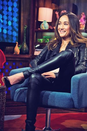 Maggie Q at Watch What Happens Live