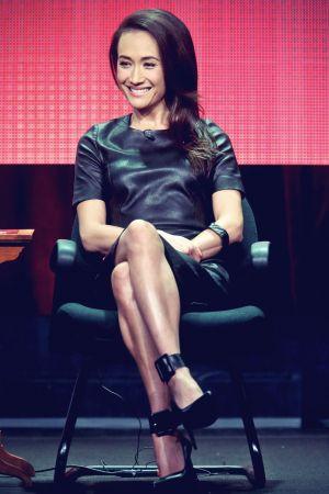 Maggie Q attends CBS Summer TCA Tour
