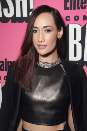 Maggie Q attends Entertainment Weekly's Comic Con Bash