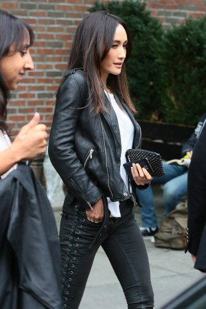 Maggie Q was spotted leaving the Bowery Hotel