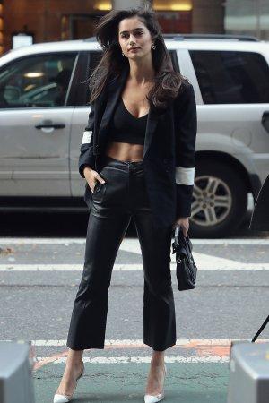 Maia Cotton attends Victoria's Secret Fashion Show fitting