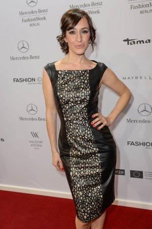 Maike von Bremen attends Merceses Benz Fashion Week