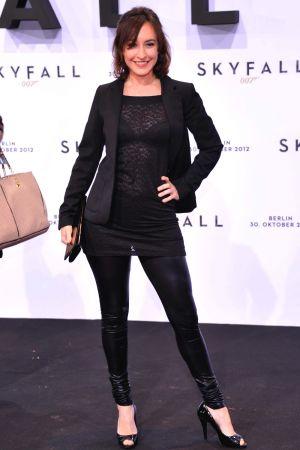 Maike von Bremen attends the German premiere of Skyfall