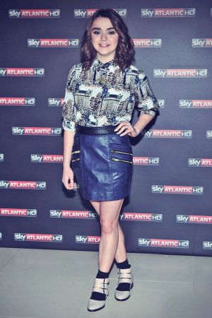 Maisie Williams attends Game Of Thrones premiere