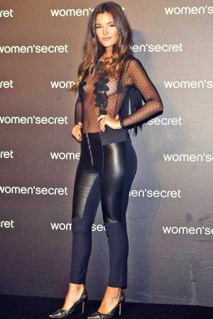 Malena Costa attends Women's Secret videoclip premiere