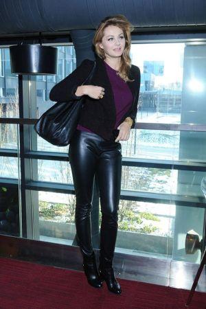 Malgorzata Socha at Fashion Designer Awards Press Conference