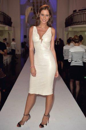 Malika Menard attends Jean-Paul Gaultier 2017-18 Fall Winter Haute Couture show