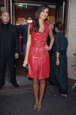 Malika Menard attends the Jean Paul Gaultier show