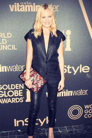 Malin Akerman attends InStyle Miss Golden Globe