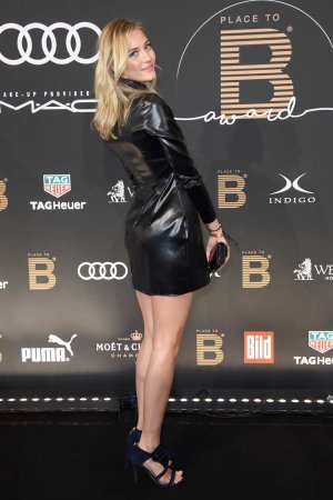 Mandy Bork attends the Place To B Influencer Award
