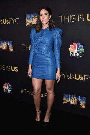 Mandy Moore attends an evening with This Is Us