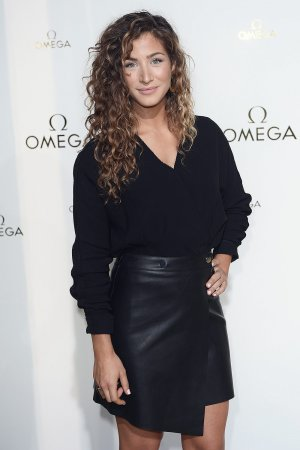 Manon Azem attends Her Time exhibition launch party