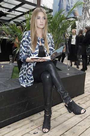 Marcelina Zawadzka attends the press day for the SOLAR F/W 17/18 collection
