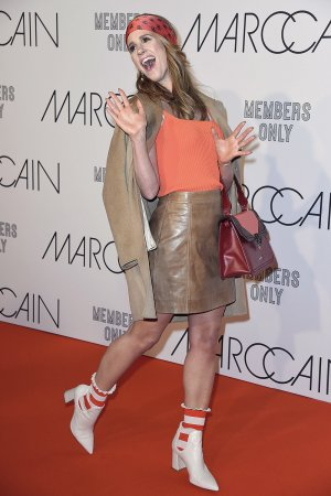 Mareile Hoppner attends Marc Cain Fashion Show - Berlin Fashion Week