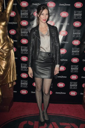 Mareva Galanter attends the Chantal Thomass Dessous Dessus show