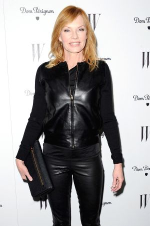 Marg Helgenberger at W Magazine party at Chateau Marmont