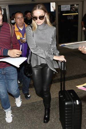 Margot Robbie seen at LAX airport
