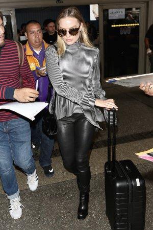 Margot Robbie seen at LAX airport