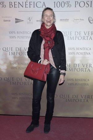 Maria Leon attends Lo Que De Verdad Importa premiere