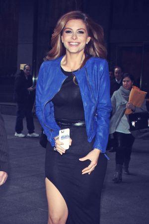 Maria Menounos arrives at Howard Stern