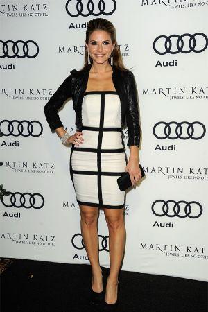 Maria Menounos at Audi Celebrates the Golden Globes in LA
