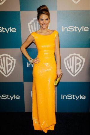 Maria Menounos at Warner Bros InStyle Golden Globe party