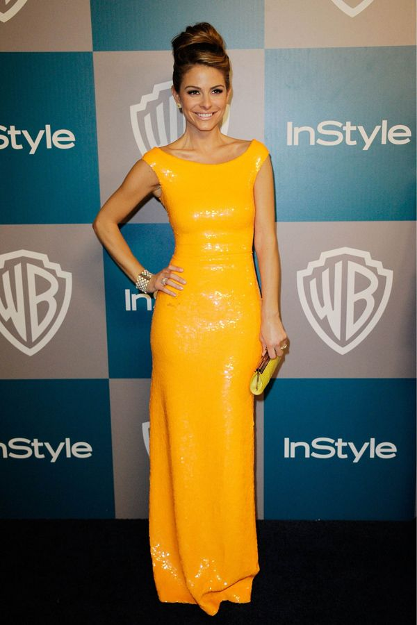 Maria Menounos at Warner Bros InStyle Golden Globe party