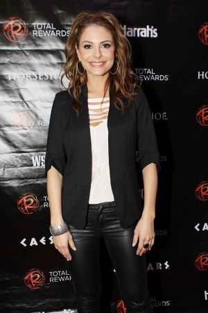 Maria Menounos attends the Escape To Total Rewards at Woldenberg Park