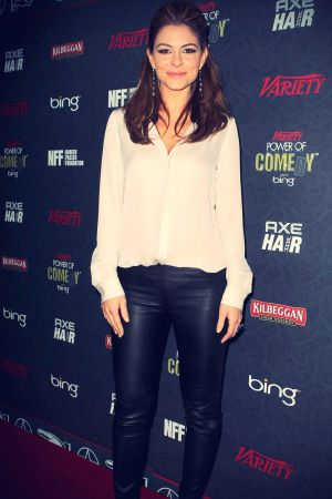 Maria Menounos attends Variety's 3rd annual Power of Comedy