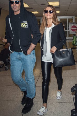 Maria Menounos seen at LAX