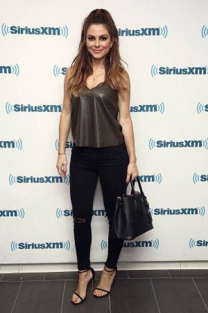 Maria Menounos visits the SiriusXM Studios