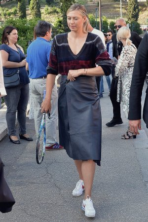 Maria Sharapova out and about in Rome