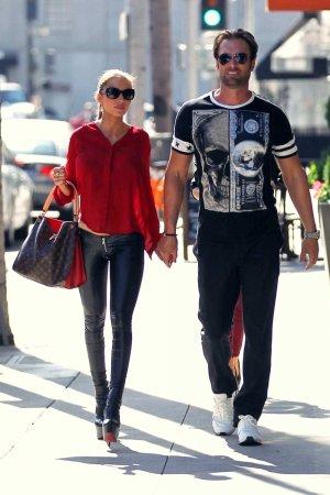 Maria Yotta shopping in Beverly Hills
