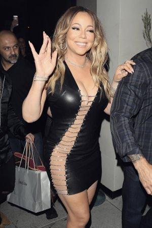 Mariah Carey arrived at Catch restaurant
