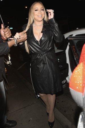 Mariah Carey at Catch Restaurant