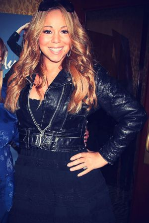 Mariah Carey at My Mother Was Nuts Release Party