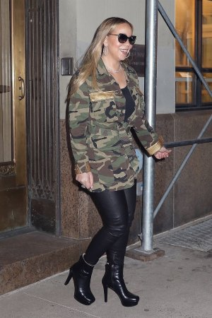 Mariah Carey out and about in NYC