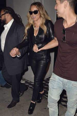 Mariah Carey spotted attending Jay-Z and Beyonce's On the Run II Tour