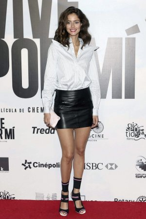 Mariana De Luccas attends Vive Por Mi film premiere