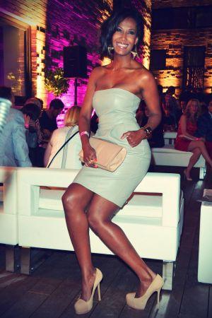 Marie Amiere attends Berlin Fashion Week