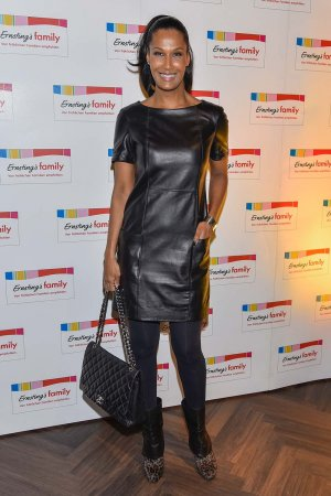 Marie Amiere attends Ernstings family Fashion Dinner