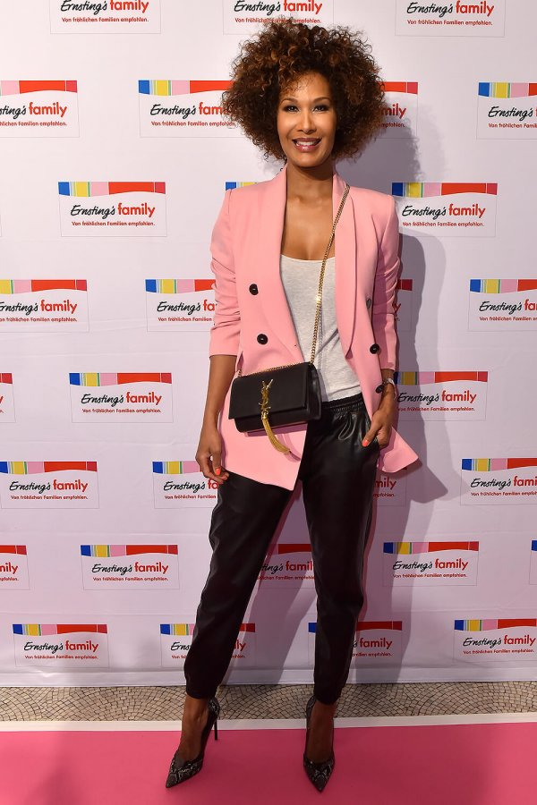Marie Amiere attends Ernsting's Family Fashion Show