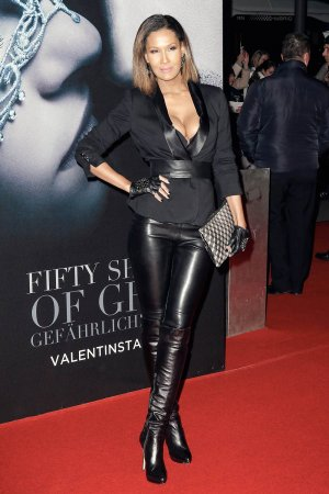 Marie Amiere attends European Premiere of Fifty Shades Darker
