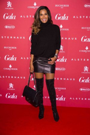 Marie Amiere attends Gala Christmas Shopping Night