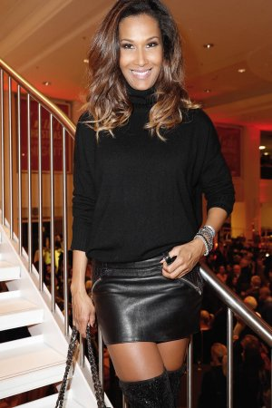 Marie Amiere attends the GALA Christmas Shopping Night 2016