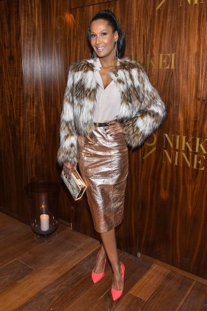 Marie Amiere attends the Nikkei Nine restaurant opening